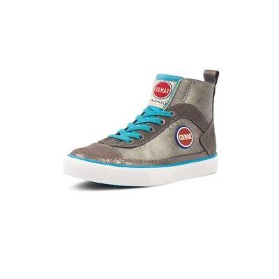 Scarpe Colmar Originals Bambino Bambina Sneakers In Pelle Scamosciata Durden Y43