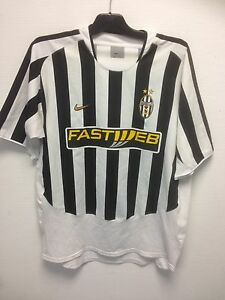 Maillot-de-football-shirt-maglia-JUVENTUS-TURIN-Vintage-Nike-Home-jersey-RARE