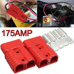 6TLG-175-AMP-Stecker-Batterie-Stecker-Verbindungsstecker-Schutzkappe-Terminals