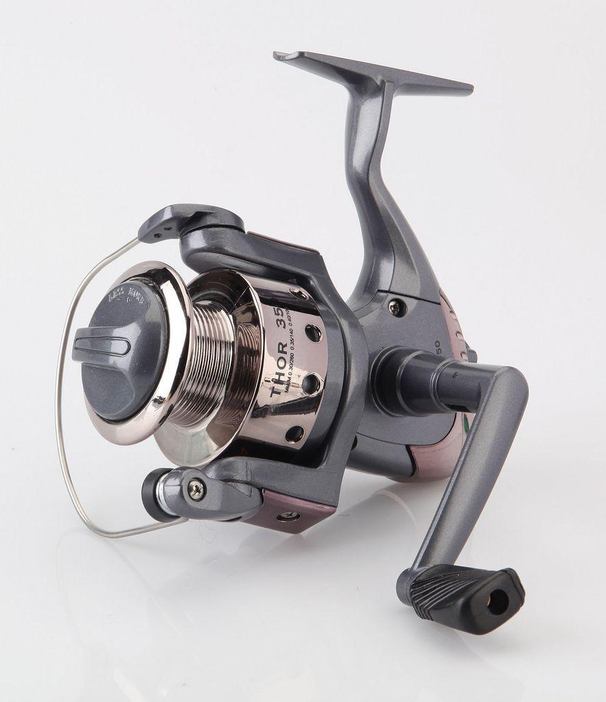 Mulinello thor 1000 da pesca spinning bolognese trossoa lago leggero tp