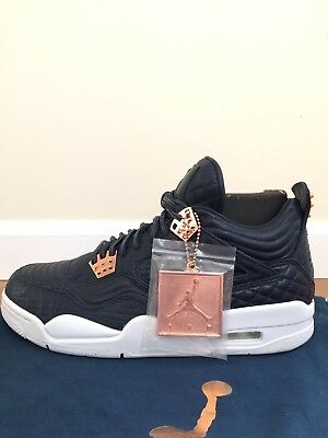 outlet store ffd43 80ff4 Nike Air Jordan 4 IV Retro Premium Obsidian Pinnacle Rose Gold, Size 9.5 |  eBay