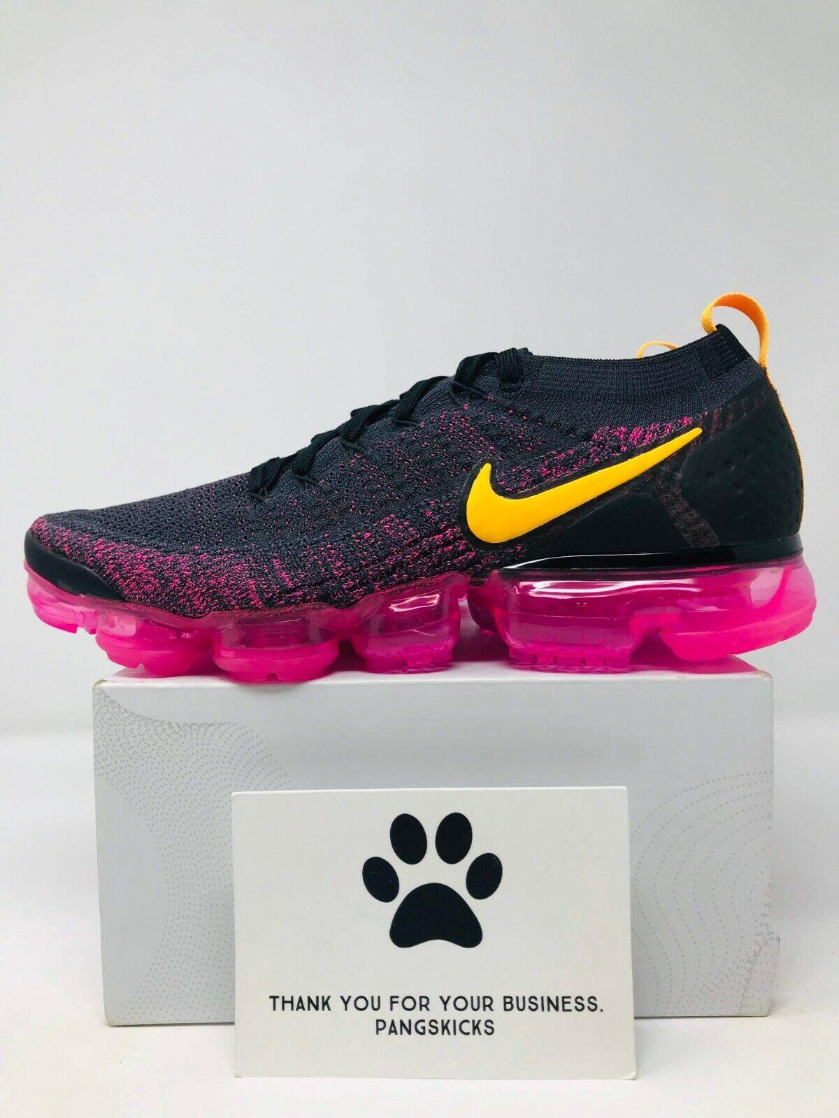 Nike Air VaporMax Flyknit 2 'Pink Blast' 942843-008 Women's Size 6-12