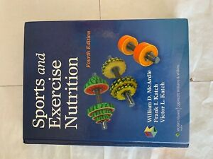Sports And Exercise Nutrition 4 E Hardcover By William D Mcardle 9781451118063 Ebay