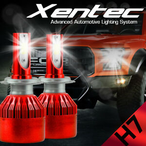 XENTEC LED HID Headlight kit H7 White for Mercedes-Benz GL500 2008-2015