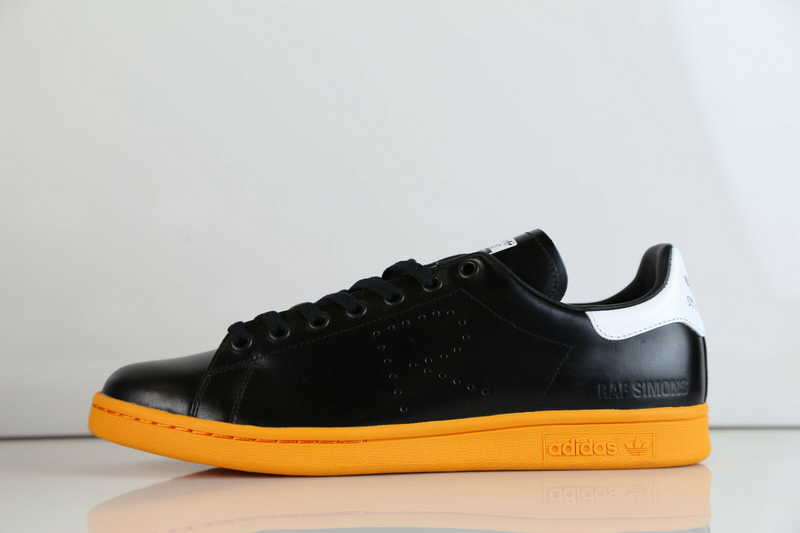 Adidas X Raf Simons Stan Smith Black Orange BB2647 400 7.5-12 rf