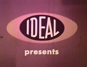 IDEAL TOYS 1962 1963 SALES FILM TOY COMMERCIALS KENNER VINTAGE FILM RARE DVD