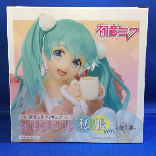 Hatsune Miku Original Shifuku Ver Figure SEGA Tea time Relux Kawaii New