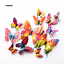 DIY 3D Butterfly Wall Stickers Home Room Nursery Decor Art Mural Decals For Kids