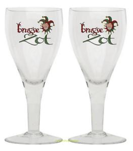 M18 2018 Belgian 2x Brugse Zot Beer Glasses 33cl Ritzenhoff