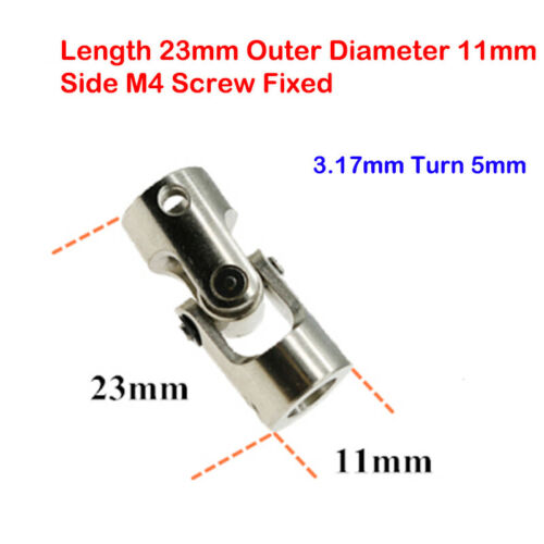 Micro 2mm-10mm Couplings Steering Joints Universal Joints DIY Vehicle Model Boat