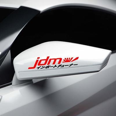 Jdm Kanji Rising Sun Divertente Auto Finestra/laptop Giapponese Drift Vinile Decalcomania Sticker- Bello A Colori