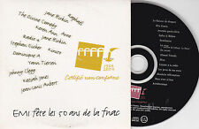 CD CARTON CARD SLEEVE COLLECTOR 14T ARNO/RAPHAEL/BIRKIN/EICHER/TIERSEN/AUBERT