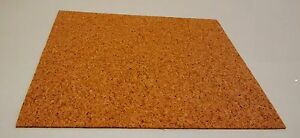3D Printer Cork Sheet 2mm Thick - Heat bed Insulation, Gaskets and more, RepRap