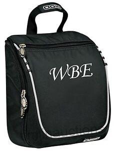 Image Is Loading Personalized Monogrammed Mens Hanging Travel Toiletry Bag Groomsmen