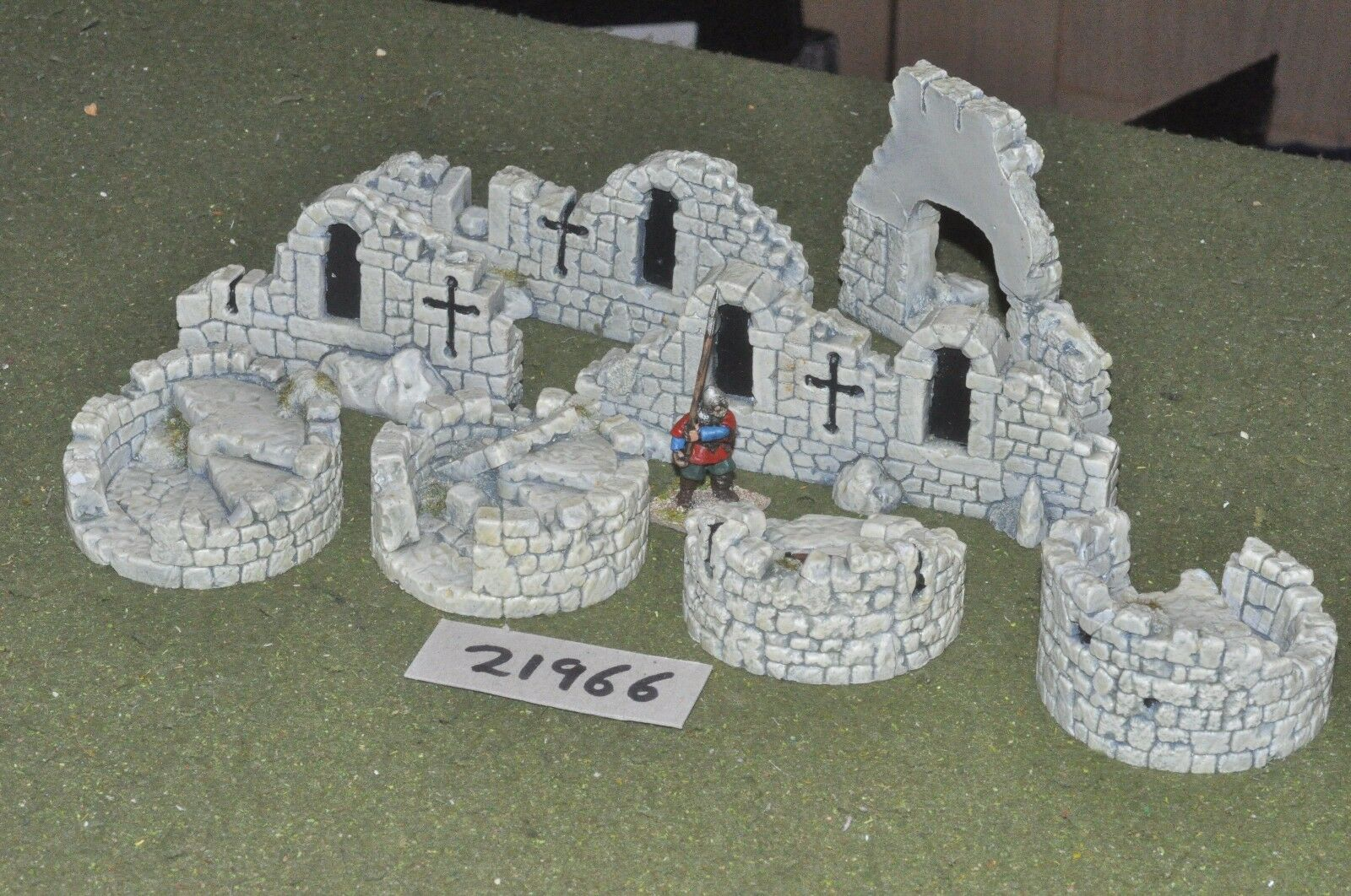 25mm medieval   generic - fantasy ruins for scale scenics - scenics (21966)