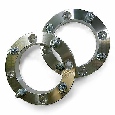 2 - 1in Atv Kawasaki Brute Force Prairie 4x110 Grizzly Wheel Spacer Utv Atv
