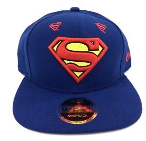 Superman DC Comics Justice League Snapback New Era Hero Star 9Fifty ... c41ed5393d8