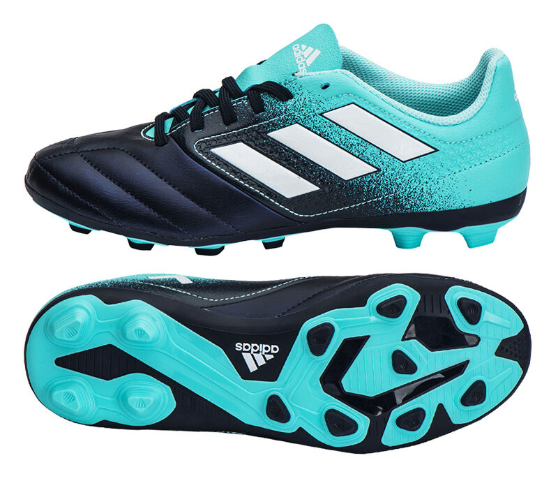 4025358e632 Adidas ACE 17.4 FxG Junior (S77097) Soccer Cleats Football shoes KIDS Boots