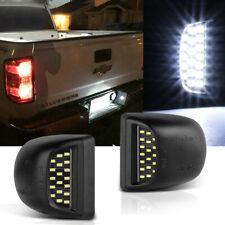 For 99 13 Chevy Silverado 1500 2500 2500hd 3500 Led License Plate Light Housing Fits 2005 Chevrolet Silverado 2500 Hd Ls