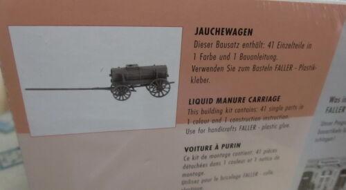 Faller h0 180386 jauchewagen granja /_ nuevo
