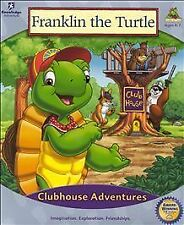 FRANKLIN THE TURTLE CLUBHOUSE ADVENTURES (2000) PC CD-ROM NEW & FACTORY SEALED