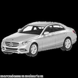 Modellbau Zielsetzung Mercedes Benz W 205 C Klasse Avantgarde Iridiumsilber 1:87 Neu Herpa Ovp