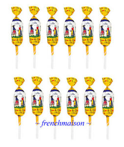 120-BARNIER-Quimper-Candy-Salted-Butter-Lollipop-French-CARAMEL-Gift-Bag-Ribbon
