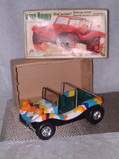 ALPS VINTAGE TIN DUNE BUGGY FULLY OPERATIONAL WITH DUEL ACTION & ORIGINAL BOX!