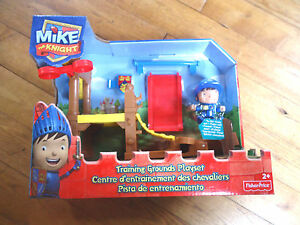 FISHER PRICE / MIKE THE KNIGHT / CENTRE D'ENTRAINEMENT DES CHEVALIERS