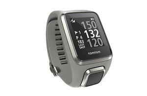 Gps Entfernungsmesser : Tomtom golfer 2 gps golfuhr entfernungsmesser farbe: grau armband