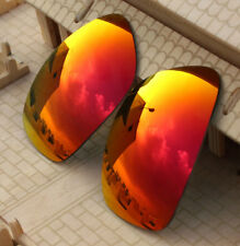 59c2644e34 ACOMPATIBLE Fire Red Mirror Replacement Lenses Polarized for-Oakley Ten  OO9128