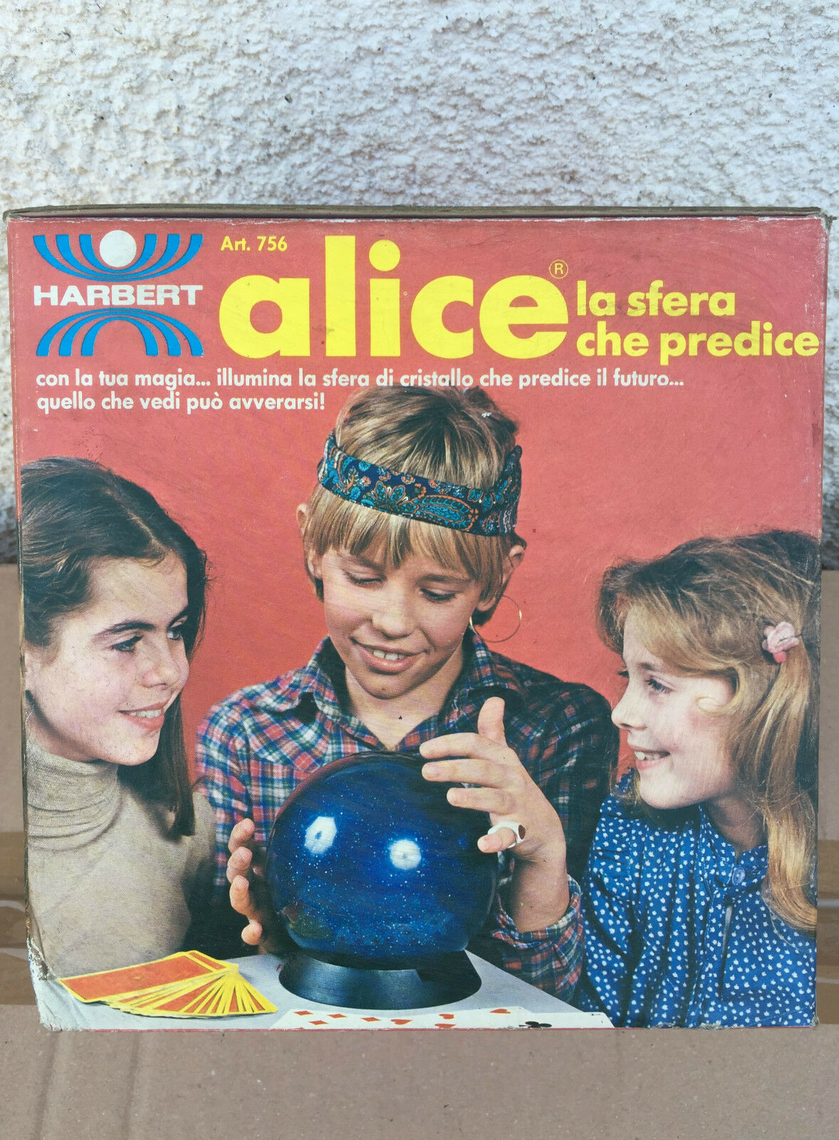 ALICE THE SPHERE CHE PREDICTS HASBRO RARE,GAME FORTUNE TELLER,RARE