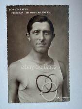 DONATO PAVESI atleta marcia Giochi olimpici Olympic Games vecchia cartolina