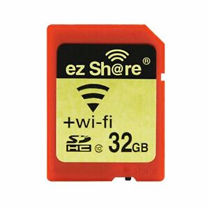 32GB-Wi-Fi-Wireless-SDHC-Class-10-SD-Memory-Card-BOX-eye-fi-transcend-EZ-Share