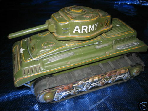 TN Jap Tank Carro Armato latta  anni '60 Tin Toy