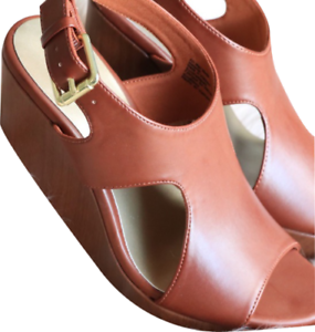 Details about  /American Eagle Women/'s Tansy High Wedge Sandal