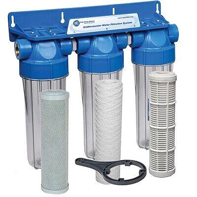 Filtre pour l/'eau de pluie triple action à prix bas