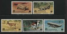 Tanzania - WWF - Scott 82-86 - NH - Endangered Species