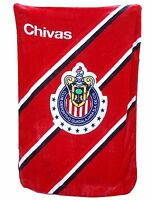 Chivas Del Guadalajara Red Twin Size Blanket In Original Package 60x80