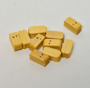 Details about 10 x Double Block for Rigging Choice Colour and Sizes - Model  Boat Fitting