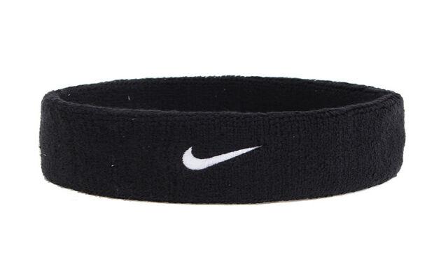 b60899a1aac Nike Swoosh Sport Black Headband Headwear Gear AC2285-010 Gift Free Shipping  NEW