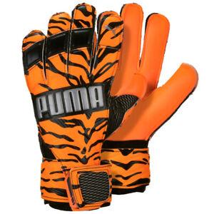 PUMA Kids Goalkeeper Gloves Orange/Black PMAT3146FORG