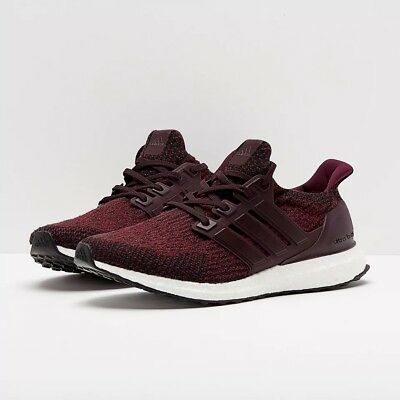 new style 60713 8b144 Adidas Ultra Boost 3.0 Deep Burgundy s80732 Men 6.5 Women 7.5 New with Box  | eBay