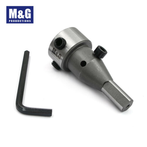 M/&G Productions Annular Cutter in a Drill Chuck