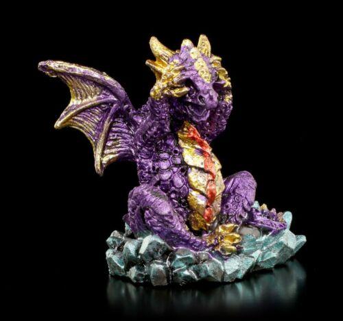 Drachen Figuren 3er Set Nichts Böses Fantasy Geschenk Deko Statue bunt