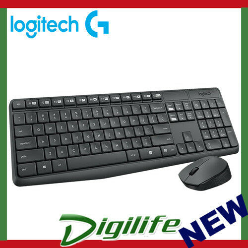 30916144321 Logitech MK235 Wireless USB Receiver Spill Resistant Keyboard and Mouse  Combo