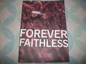 Faithless Forever Promotional magazine RARE - Livingston, United Kingdom - Faithless Forever Promotional magazine RARE - Livingston, United Kingdom
