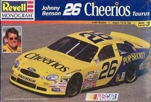 Revell-Monogram-1-24-Johnny-Benson-26-Cheerios-Taurus-NASCAR-Kit-85-2553U