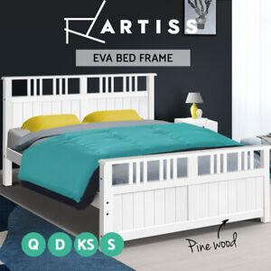 Artiss-Bed-Frame-Queen-Double-King-Single-Size-Wooden-Timber-Mattress-Base