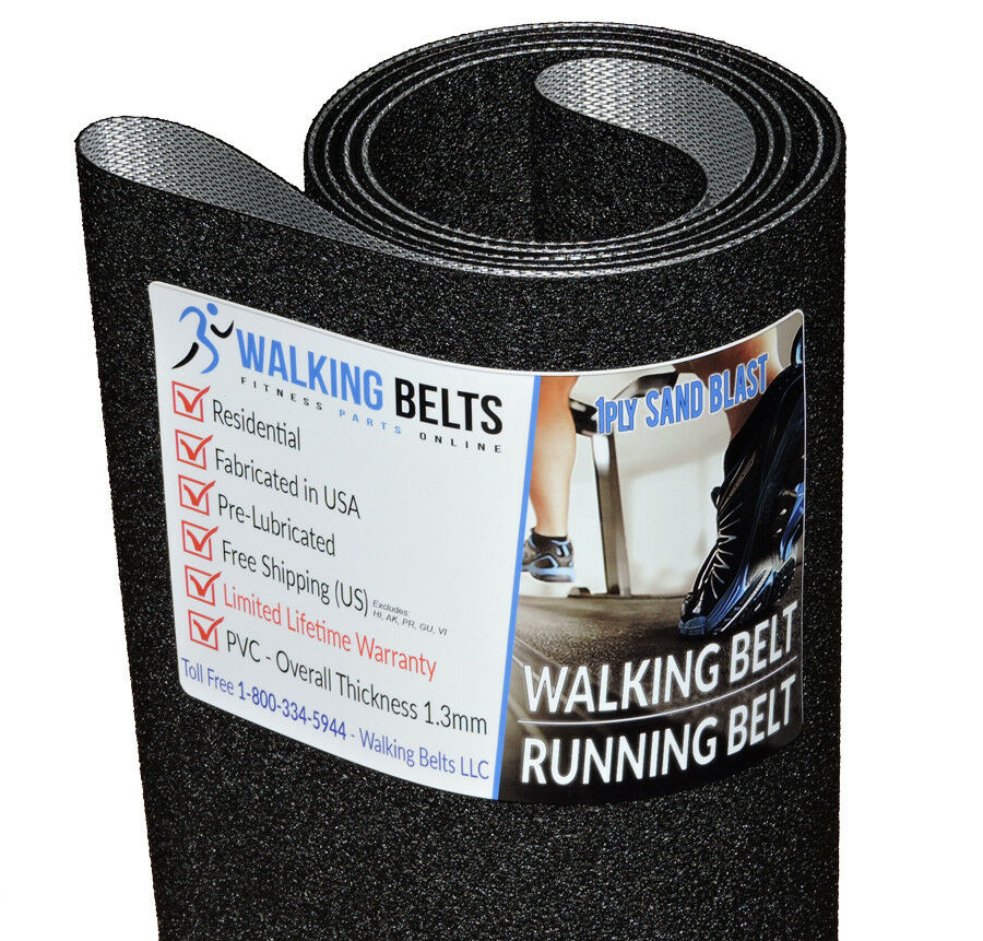 Alliance ALL835HR Treadmill Running Running Running Belt 1ply Sand Blast + Free 1oz Lube f74466